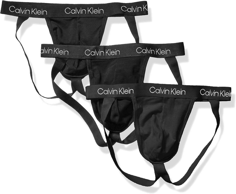 papi Mens Cotton Stretch Jock Strap 3-Pack of Underwear