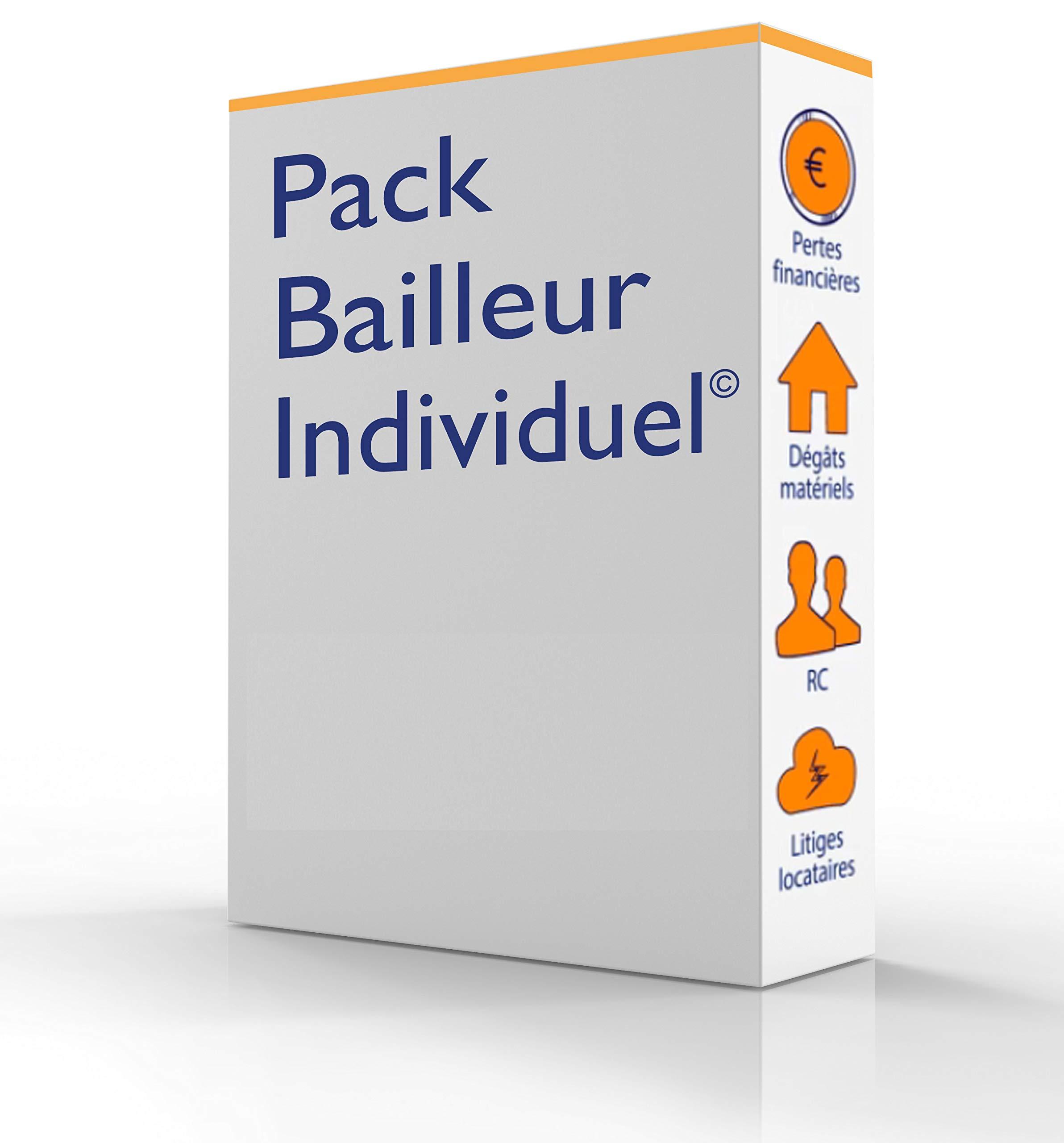 PACK BAILLEUR: Pack avec les documents necessaires aux bailleurs (French Edition)
