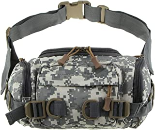 Homyl Camouflage Waist Bag Fanny Pack for Daily Life Cycling Camping Fishing Trekking Travel