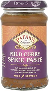 Pataks Mild Curry Paste 283 g (order 6 for trade outer)