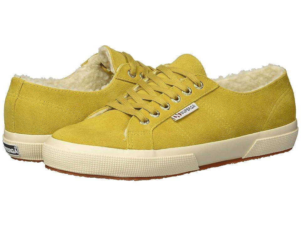 Superga 2750 Suefurw (Mustard) Women