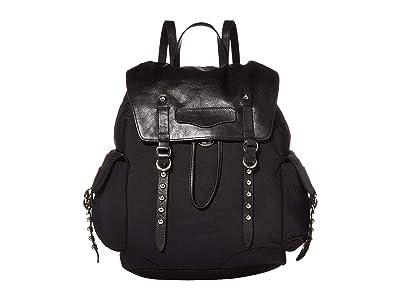 Rebecca Minkoff Bowie Nylon Backpack (Black) Backpack Bags