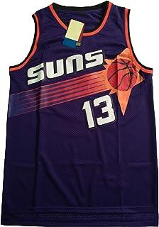 PANGOIE Men's Women Basketball Uniform 13# Nash Jerseys Retro Breathable Sleeveless Vest Training Fitness Jogging