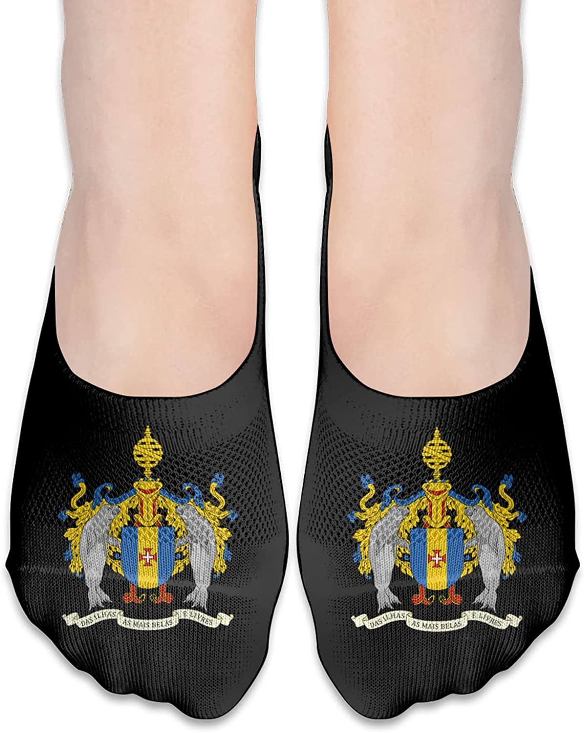 Swaziland Coats Of Arms Unisex Adult Breathable Liner Socks Non Slip No Show Ankle Socks Low Cut Invisible Socks