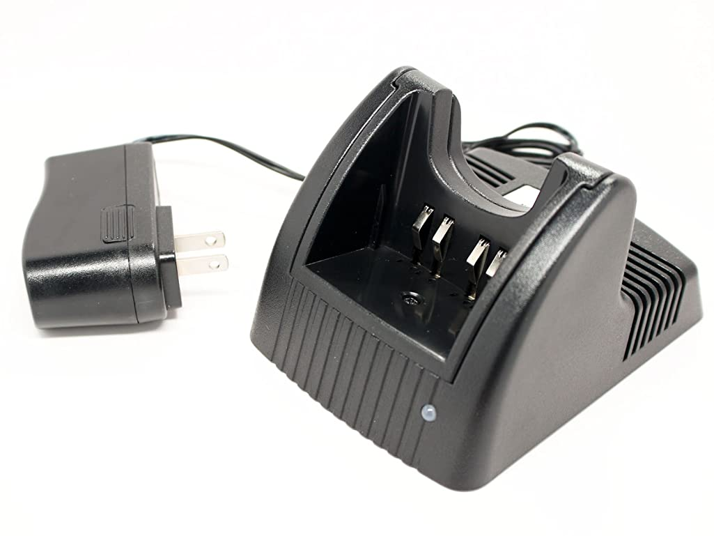 Motorola HNN9008A Two-Way Radio Chargers (100-240V) - Compatible with Motorola HT750 Charger, HT1250, HT750, PR860, HT1250.LS, GP340, MTX8250, GP380, PRO5150, MTX9250, HT1550, MTX850, GP680, GP360, MTX950, HT1550.XLS, HT1250.LS+, HNN9008A, HT1200, GP320, GP280, GP240, GP540, GP140, GP580, HNN9009A, GP640, HNN9008AR, HNN9009, HNN9008, PRO7150, MTX960, MTX850.LS, MTX8250.LS, HT1500, HT1225, GP1280, MTX8250LS, MTX850LS, Waris HT750, WPNN4045R, WPNN4045AR, HNN9012R, HNN9012BR, HNN9011R, HNN9011BR, HNN9009AR, Waris HT1250, Waris HT1550