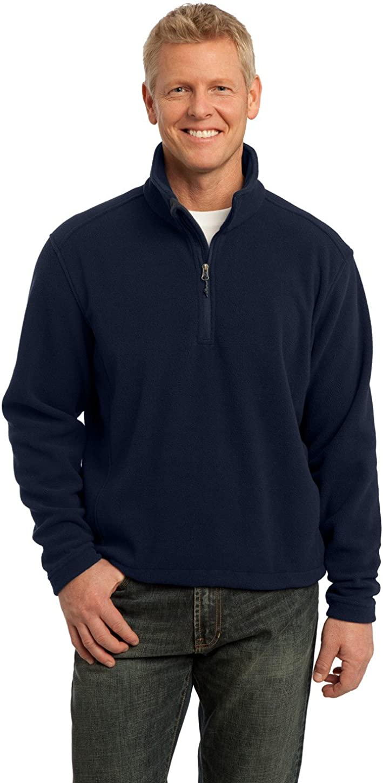 Port Authority Men's Tall Value Fleece 1/4Zip Pullover
