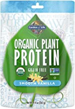 Garden of Life Organic Protein Powder - Vegan Plant-Based Protein Powder, Vanilla, 9.4 oz (265g) Powder
