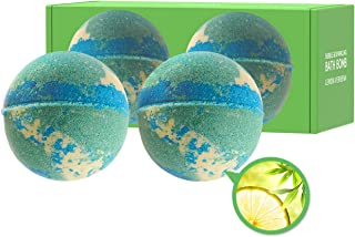 [KUNDAL] Bubble&Sparkling Bath Bomb 200g SET (Lemon Verbena, 2ea)