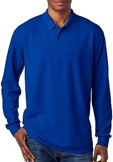 72900 DryBlend Adult Long-Sleeve Polo