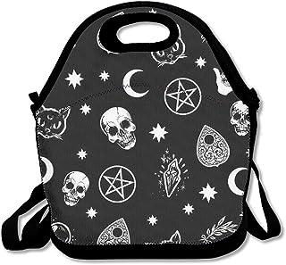 fb4381e124e8 Amazon.com: skull lunch bag