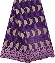 Lilac Swiss Voile Laces in Switzerland Cotton African Dry Cotton Lace Fabric Nigerian Lace Fabrics,As Picture 5