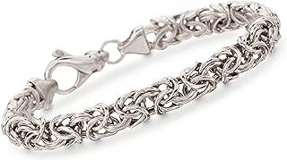 Best sterling silver byzantine bracelet Reviews