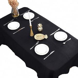 Yuanyou Tovaglia in lino tinta unita rettangolare isolata calda tovaglia ispessita per feste di compleanno, matrimonio, ca...