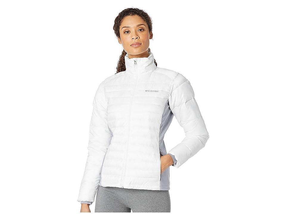 Columbia Powder Pillowtm Hybrid Jacket (White/Astral) Women