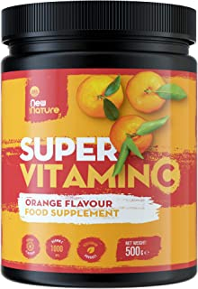 Súper Vitamina C en Polvo (Sabor a Naranja) - 1000mg