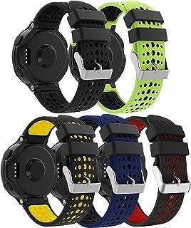 SUPORE per Garmin Forerunner 235 Cinturino, Accessori Morbido Cinturino di Ricambio in Silicone Stampa per Garmin Forerunn...