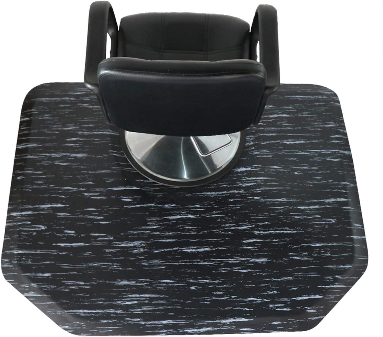 Ergohead Salon 買収 Mat お買い得品 5′x 4′Hexagon Chair Shop Anti-Fati Barber