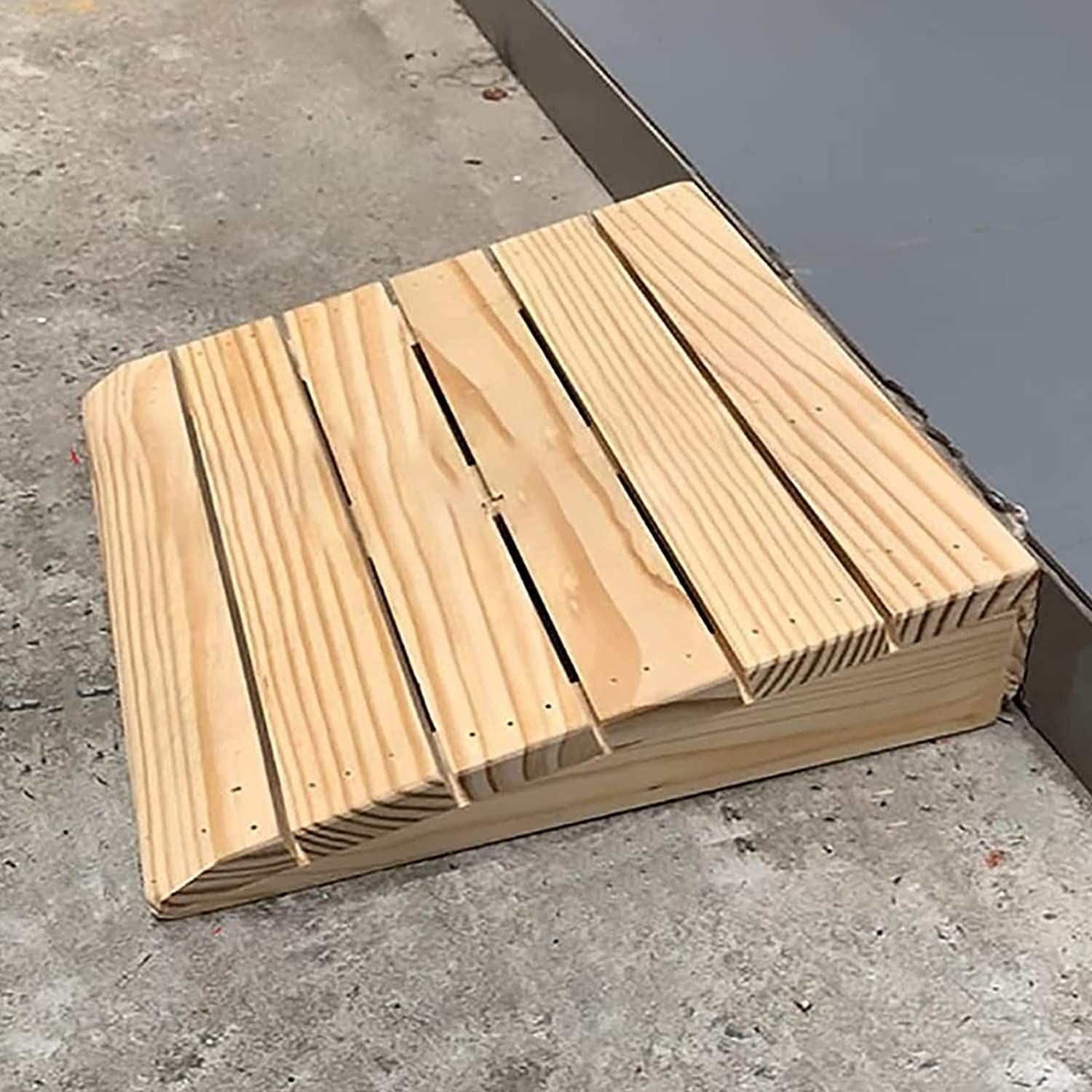 LJYT Curb OFFer Ramps Our shop most popular for Driveway Height Inch Wood 5 Handicap
