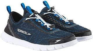 Men's Hybrid Watercross Water Shoe, Navy/White