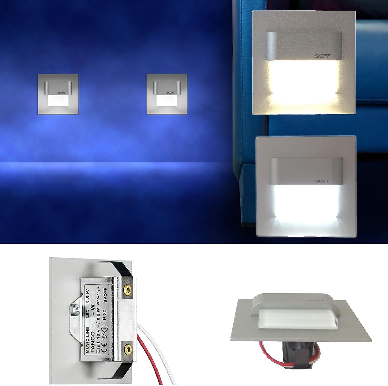LED Einbauleuchte Tango 9V Aluminium. 9X ...
