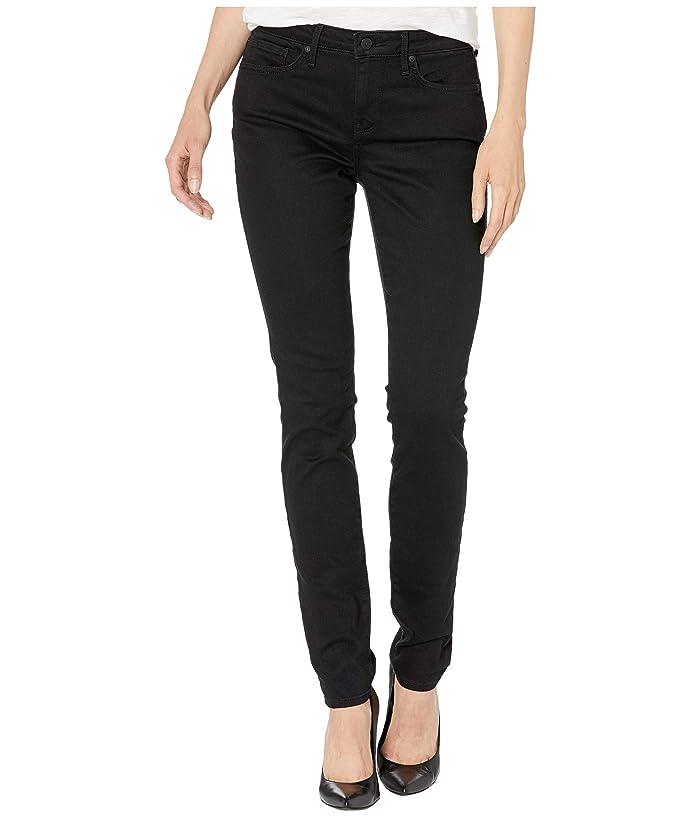 NYDJ Alina Skinny in Black (Black) Women's Jeans
