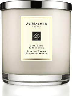 Lime Basil and Mandarin Luxury Candle