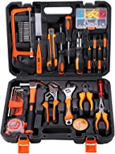 Pack Of 100 Heavy Duty Tool Set With Tool Bag Black/Orange/Silver