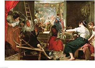 The Spinners - Detail by Diego Velazquez Art Print, 19 x 14 inches