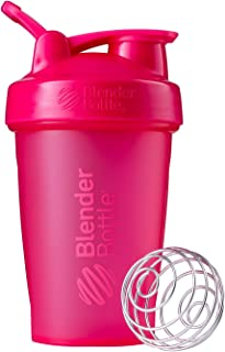 BlenderBottle Classic Loop Top Shaker Bottle, 20-Ounce, Full Color Pink -