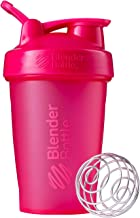 BlenderBottle Classic Loop Top Shaker Bottle, 20-Ounce, Full Color Pink - C01623