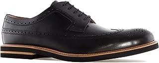 Andres Machado.6109.Zapato Estilo Oxford en Cuero .Tallas Pequeñas de la 37/40 y Tallas Grandes 47/52 Made IN Spain