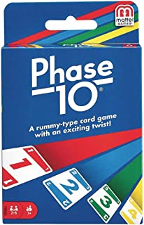 Phase 10 Card Game Styles May Vary