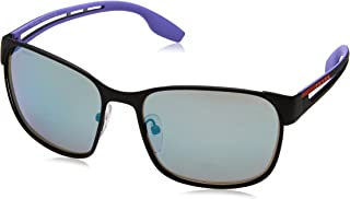 Prada Linea Rossa Sunglasses For Men, Grey PS52TS DG014059 59 mm
