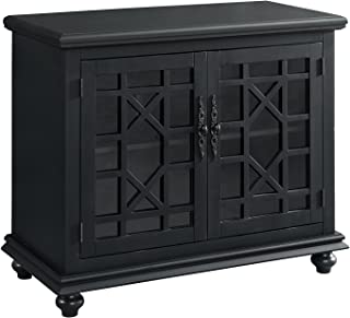 Martin Svensson Home Small Spaces TV Stand 2-Door Accent Cabinet, 38