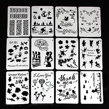 Tier Tattoo Schablonen Vorlagen 12 Sheets 3