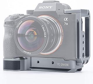 YC Onion Sony A7 III A7 R III A7 M III L wspornik, płytka w kształcie litery L klatka do Sony A7 III A7 R III A7 M III ze ...