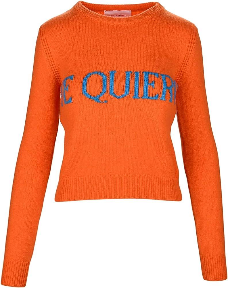 Alberta ferretti te quiero ,maglione , pullover per donna,70% lana, 30% cachemire ALBERTA FERRETTI J0940 Te Quie