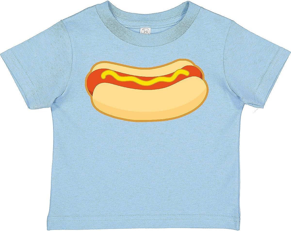 inktastic Funny Hot Dog Toddler T-Shirt