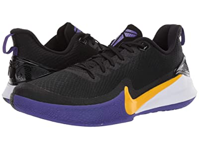 Nike Mamba Focus (Black/Amarillo/Field Purple/White) Men