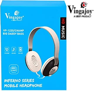 133e41ae612 Vingajoy HD Music Headphone VP-1220 Head Phone Champ Big Daddy Bass Wired  Headphone for