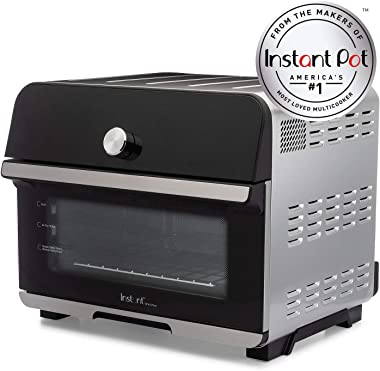 Instant Omni Plus 10-in-1 Air Fryer Toaster Oven Combo, Rotisserie Oven, Deep Fryer, Oil-less Mini Cooker, Convection Oven, D