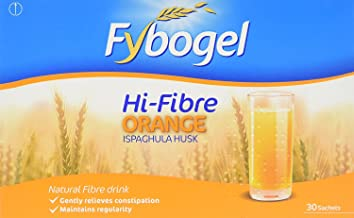 Fybogel Hi-Fibre Orange flavour, 30 sachets