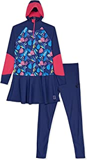 Veilkini Full Cover Sporty Slimfit Swimsuit Burqini for Girl's, V01DN180202
