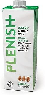 Plenish Organic 7% Almond Milk 1 Litre (Pack of 8)