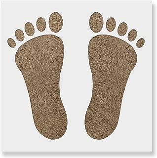 Best footprint stencil template Reviews