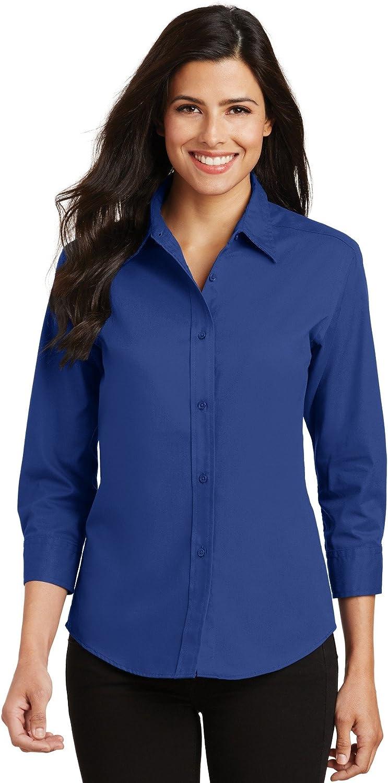 Port Authority Ladies 3/4-Sleeve Easy Care Shirt