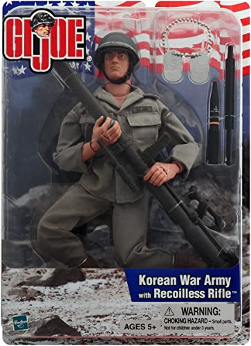 Gi Joe Korean War U S Army with Recoilless Rifle by G. I. Joe