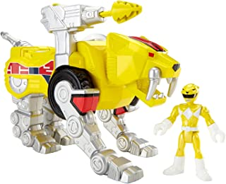 Fisher-Price Imaginext Yellow Ranger and Sabertooth Zord