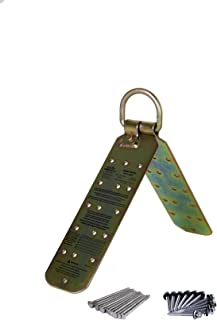 Guardian Fall Protection 00455 Temper Reusable Anchor for flat 12/12 Pitch with Fasteners