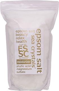 エプソムソルト モイスチャライザー 2.2kg 入浴剤 (浴用化粧品)フィチン酸配合 シークリスタルス 計量スプーン付